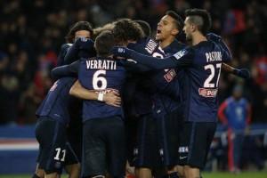 PSG - O. Lione 2-1: parigini in semifinale