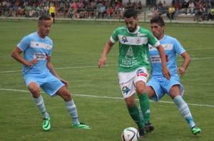 El Coruxo vence con solvencia al Atlético Astorga