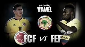 Colombia - Ecuador: a vencer al líder en Barranquilla