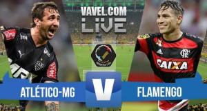 Resultado Flamengo x Atlético-MG pelo Campeonato Brasileiro (2-0)