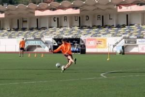 Caudal Deportivo y Tuilla empatan a un gol en el Hermanos Antuña