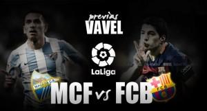Málaga CF - FC Barcelona: a por el gigante