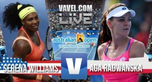 Result Serena Williams - Agnieszka Radwanska of the 2016 Australian Open Semifinals (2-0)