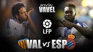Valencia - Espanyol: reaccionar o morir
