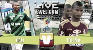 En vivo: Cali 0-0 Deportes Tolima 2016 en la Liga Águila (5-1)