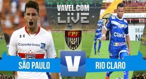 Resultado São Paulo 1-0 Rio Claro no Campeonato Paulista 2016