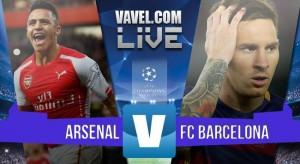 Arsenal - Barcellona in diretta, risultato Champions League 2015/2016