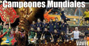 Campeones del Mundo: España