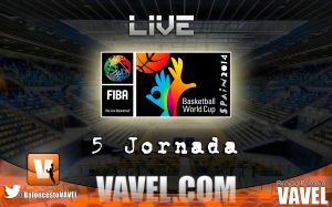 Mundial España 2014 en vivo: 5ª jornada en directo y online