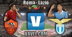 Resultado Roma vs Lazio en la Serie A 2015 (2-2)