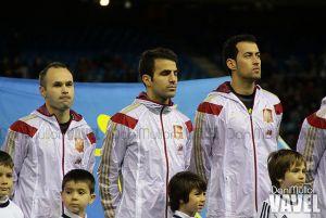 Xavi, Cesc, Iniesta y Xabi Alonso; nominados al once del año del FIFPro