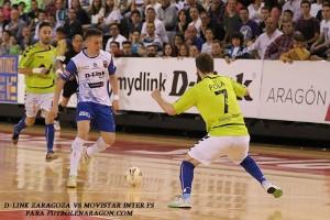 Movistar Inter se proclama campeón ante un correoso D-Link Zaragoza
