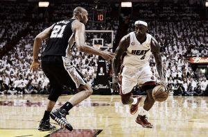 Miami Heat - San Antonio Spurs: LeBron quiere repetir en casa