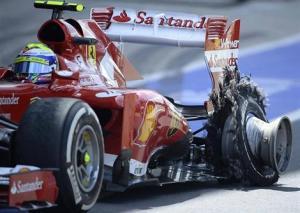 Pirelli explique les crevaisons