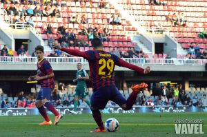 Ponferradina - FC Barcelona B: puntuaciones FC Barcelona B, jornada 14 Liga Adelante