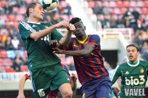 Antecedentes entre FC Barcelona B y Ponferradina
