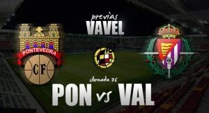 Pontevedra - Real Valladolid Promesas: hora de salvarse