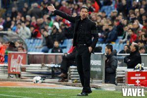 """Simeone: """"Esperamos seguir en esta línea. Si se trabaja, aparecen los éxitos"""""""