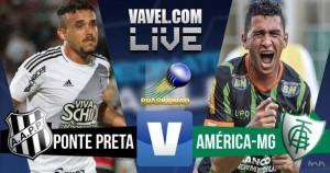Resultado Ponte Preta x América-MG no Campeonato Brasileiro 2016 (1-1)