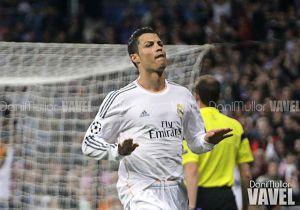 Cristiano Ronaldo, nueve partidos consecutivos anotando fuera de casa en Champions