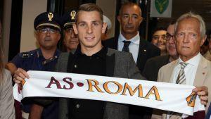 Lucas Digne es un nuevo jugador de la Roma