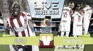 Resultado Junior vs Cortuluá en Liga Águila 2016-I (2-1)