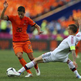 Dinamarca sorprende a Holanda