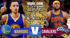 Live Golden State Warriors - Cleveland Cavaliers, gara2 NBA Finals 2016 in diretta