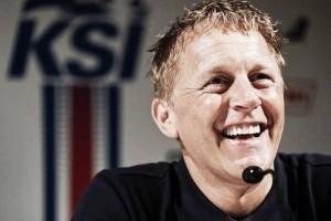 Iceland pre-match presser: Heimir Hallgrímsson takes media duties with team fit and ready for Austria