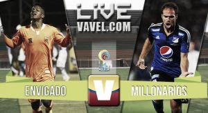 Resultado Envigado vs Millonarios en la Liga Águila 2015-I (3-2)