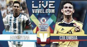Resultado Argentina vs Colombia en cuartos de final de Copa América 2015 (0-0)