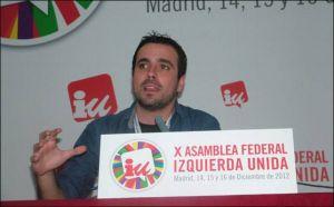 La nueva propuesta de Izquierda Unida liderada por Alberto Garzón