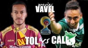 Deportes Tolima vs Deportivo Cali: los 'azucareros' buscan su primera victoria de visitante