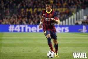 Neymar, baja contra el Rayo