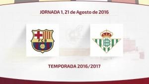 El calendario de LaLiga para el Real Betis