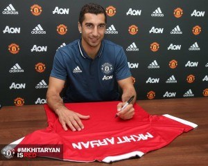 Mkhitaryan ya es nuevo jugador del Manchester United