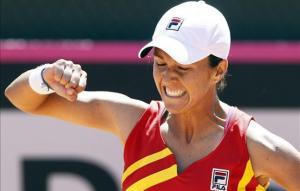 Silvia Soler apuntala el ascenso de España