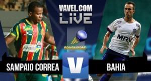 Resultado Sampaio Corrêa x Bahia pelo Brasileirão Série B (0-0)
