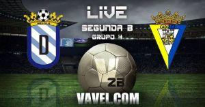 Melilla - Cádiz CF, Segunda B en directo