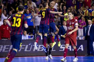 FC Barcelona Alusport – Jaén Paraíso Interior: la primera novatada