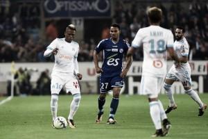 Em jogo de seis gols, Olympique de Marseille busca empate diante doStrasbourg e deixa G-3