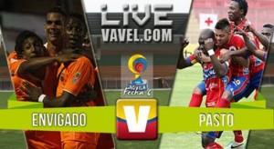 Envigado vs Deportivo Pasto en fecha 6 de la Liga Águila 2016 (1-1)