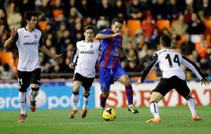 El Levante sigue sin poder en Mestalla
