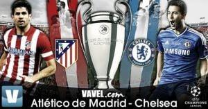 Diretta Atletico Madrid vs Chelsea live della partita di Champions League
