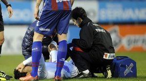 Del Pino vuelve a los terrenos de juego tras diez meses de lesión