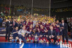 Fotos e imágenes del FC Barcelona 4-3 ElPozo Murcia, de la final de la Copa del Rey