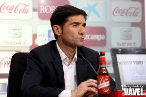 """Marcelino: """"Estoy muy satisfecho con el trabajo de mi equipo"""""""