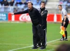 """Alberto: """"Se trata de generar ocasiones de gol, presionar mucho y hacerle el partido muy difícil al rival"""""""