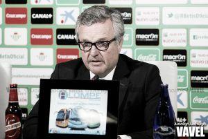 """Platas: """"Pepe Mel es un entrenador de Primera división y el Betis es un equipo de Segunda"""""""