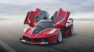Ferrari FXX K: lo más de lo más